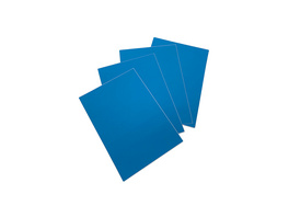 Blaue LCI-Etiketten | rund
