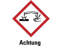 GHS-Gefahrstoffetiketten aus Papier
