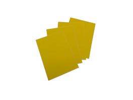 Gelbe LCI-Etiketten | rund