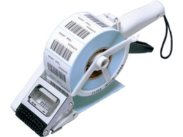 Handetikettenspender für rechteckige Etiketten