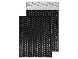 Metallic-Luftpolstertasche glänzend | 230 x 230 mm