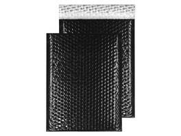 Metallic-Luftpolstertasche glänzend | DIN C4