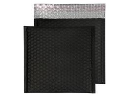 Metallic-Luftpolstertasche matt | 230 x 230 mm