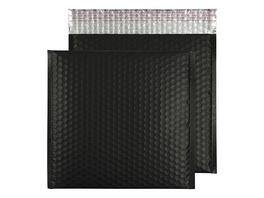 Metallic-Luftpolstertasche matt | 270 x 270 mm