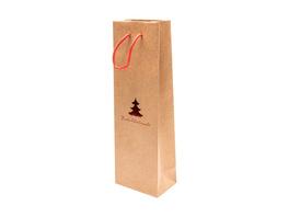 Weihnachts-Flaschentasche
